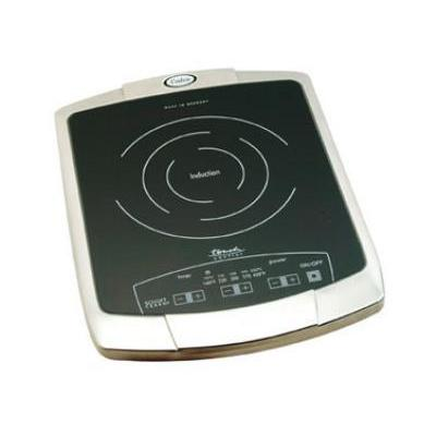 Cadco 120V Buffet Induction Range With Glass-Ceramic Cooking Surface (BIR1C) - Stainless Steel