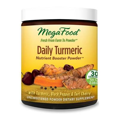 MegaFood Allergy Relief - Daily Turmeric Nutrient Booster Powder - 30