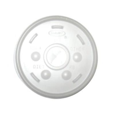 Gold Medal 1123L 16 oz Translucent Disposable Lids