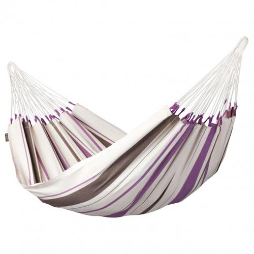 La Siesta - Caribena - Hängematte Gr Single grau/weiß