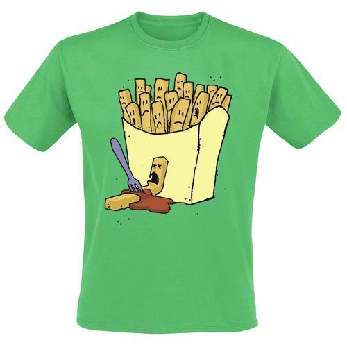 Frittis Herren-T-Shirt - grün