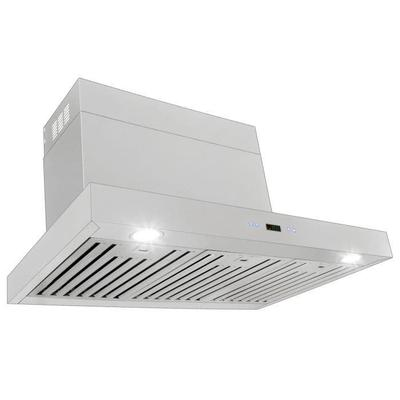 "Proline 36"" Stainless Steel Wall Range Hood - 1100 CFM - PLFW 750.36"