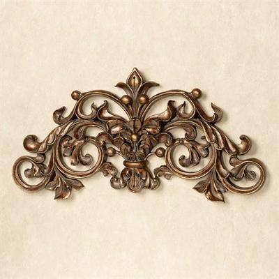 Nicoletta Scrolling Wall Art Gold/Bronze , Gold/Bronze