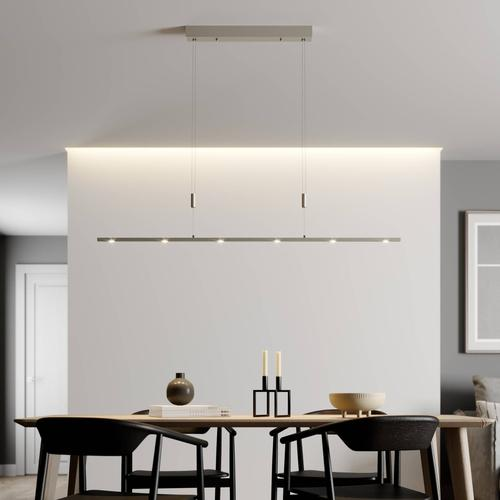 Höhenverstellbare LED-Pendelleuchte Tolu 140 cm
