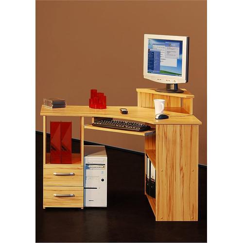 Schreibtisch Sam beige Eckschreibtische Bürotische und Schreibtische Büromöbel