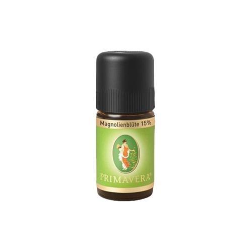 Primavera Aroma Therapie Ätherische Öle Magnolienblüte 15% 5 ml