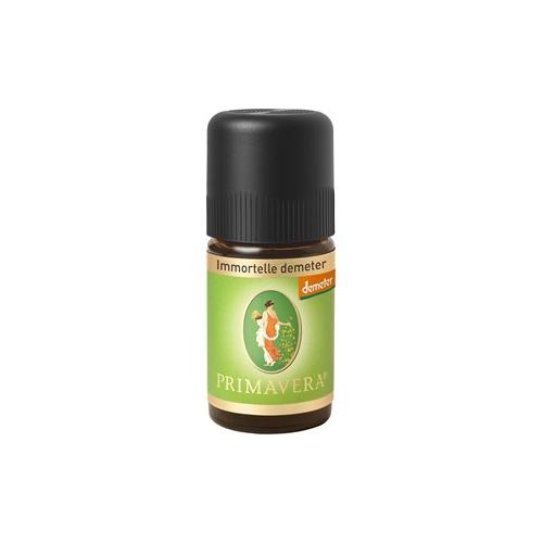 Primavera Aroma Therapie Ätherische Öle bio Immortelle Demeter 1 ml