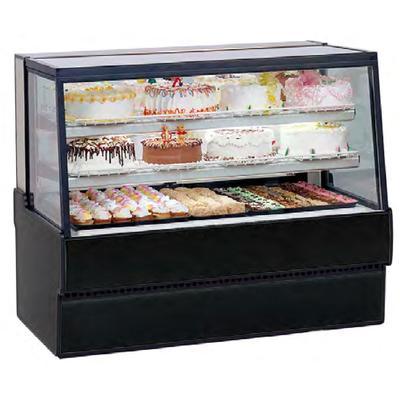 Federal SGR5042 50″ Full Service Bakery Case w/ Straight Glass – (3) Levels, 120v
