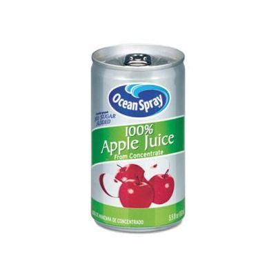"""Ocean Spray 100 Percent Juice, Apple, 5.5 Oz Can, 48 Cans (Ocs20452)"""
