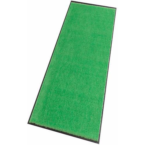 HANSE Home Läufer Deko Soft, rechteckig, 7 mm Höhe, Schmutzfangläufer, Schmutzfangteppich, Schmutzmatte, waschbar grün Teppichläufer Teppiche und Diele Flur