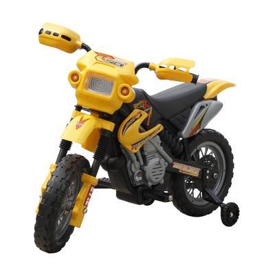 vidaXL Moto électrique pour enfants Jaune
