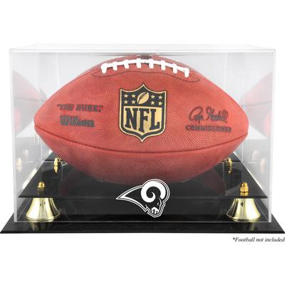 Los Angeles Rams Fanatics Authentic Golden Classic Team Logo Football Display Case