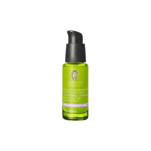 Primavera Naturkosmetik Feuchtigkeitspflege Neroli Cassis Energie Feuchtigkeitsserum 30 ml