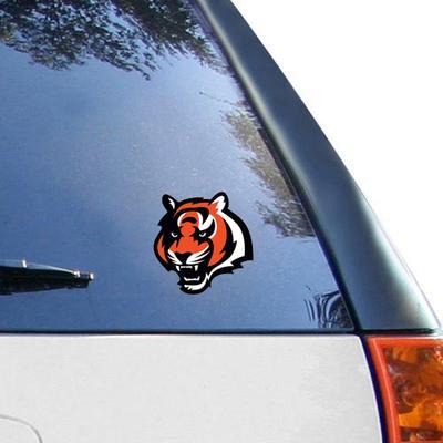 """Cincinnati Bengals WinCraft Logo 4"""" x Color Perfect Cut Decal"""