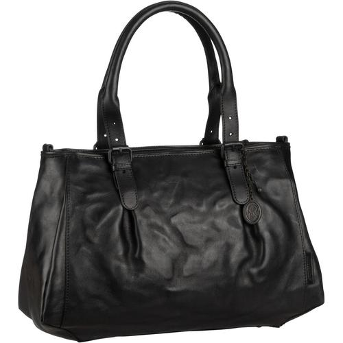 aunts & uncles Handtasche Mrs. Shortbread Black (12 Liter)