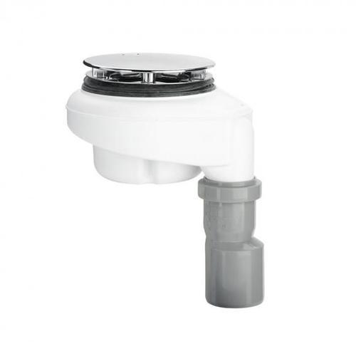 Bette Ablaufgarnitur, senkrechte Entwässerung, 0,6 l/s Komplett-Set chrom B573-901