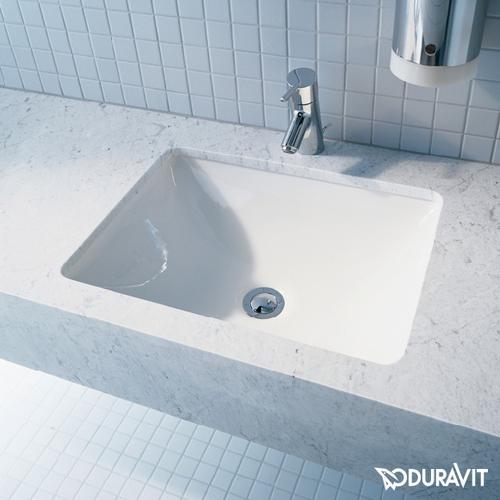 Duravit Starck 3 Unterbauwaschtisch B: 49 T: 36,5 cm weiß 0305490000