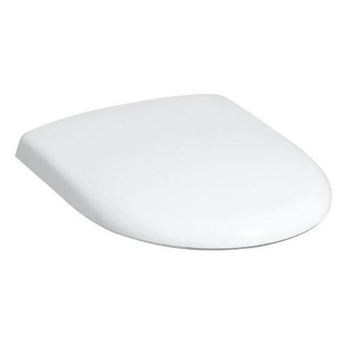 Geberit Renova WC-Sitz mit Deckel weiß Scharniere edelstahl 573010000