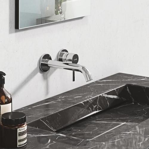 Kludi BOZZ Wand-Waschtischarmatur Unterputz Ausladung: 180 mm, chrom 382440576
