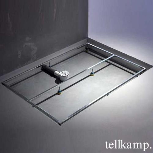 Tellkamp Aquazone Trägergestell für Duschwanne L: 160 B: 90 H: 4,5 cm TN0300-026-16090U