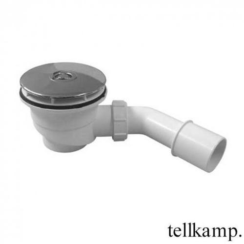 Tellkamp Aquazone Ablaufgarnitur inkl. Abdeckung für Duschwannen, Komplett-Set TN0300-035