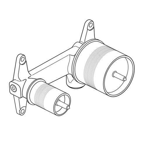 Ideal Standard Unterputz-Bausatz 1 für Wand-Waschtischarmatur A5948NU