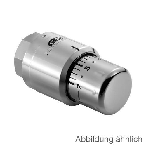 Kermi Thermostatkopf edelstahl optik ZV00380002