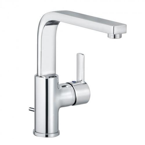 Kludi ZENTA Waschtischarmatur schwenkbar mit Ablaufgarnitur 420250575