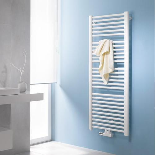 Kermi Basic-50 Badheizkörper für Warmwasser- oder Mischbetrieb B: 45 H: 117,2 cm weiß, 511 Watt E001M1200452XXK