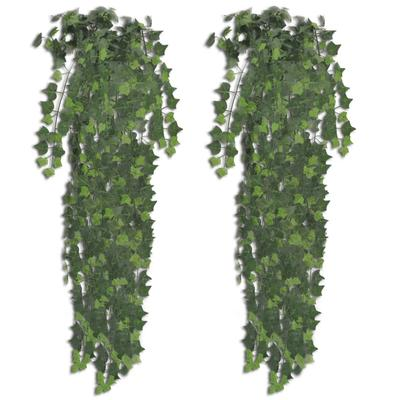 vidaXL Plantes artificielles 2 p...