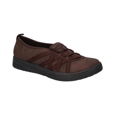 Easy Street Womens Makena ManMade Slip on Sneakers