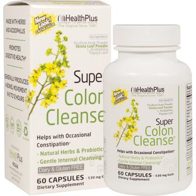 Health Plus Super Colon Cleanse-60 Capsules