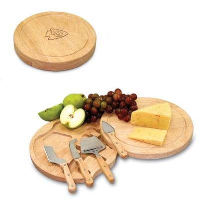 """Kansas City Chiefs Circo Cheese Board & Tool Set"""