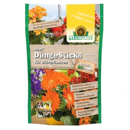 Azet® DüngeSticks für Blühpflanzen, 40 Stück
