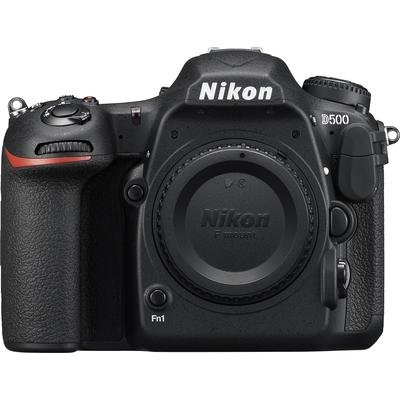 Nikon D500 DSLR Camera (Body Only) - Black