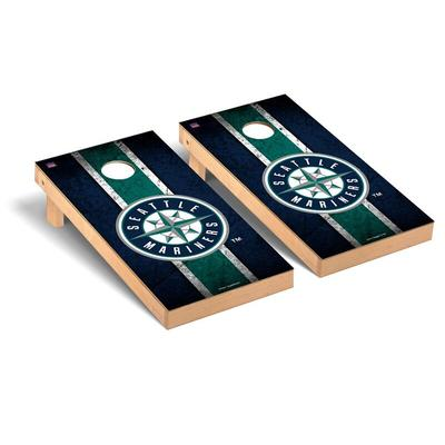 """Seattle Mariners 2' x 4' Vintage Cornhole Board Set"""