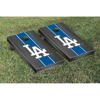 """Los Angeles Dodgers 2' x 4' Onyx Cornhole Board Set"""
