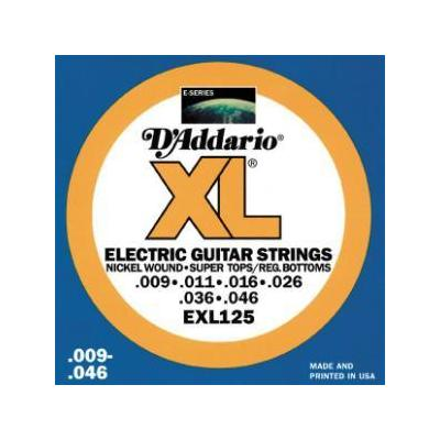 D'Addario EXL125 Light Electric ...