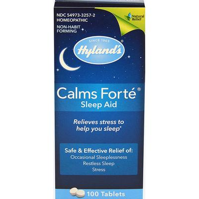 Hylands Calms Forte Sleep Aid-100 Tablets