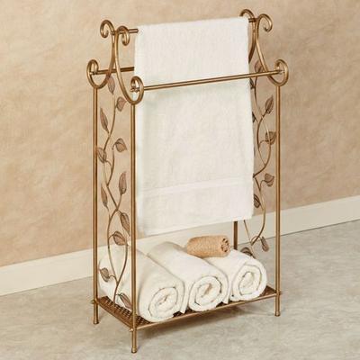 Eden Towel Stand Champagne Bronze , Champagne Bronze