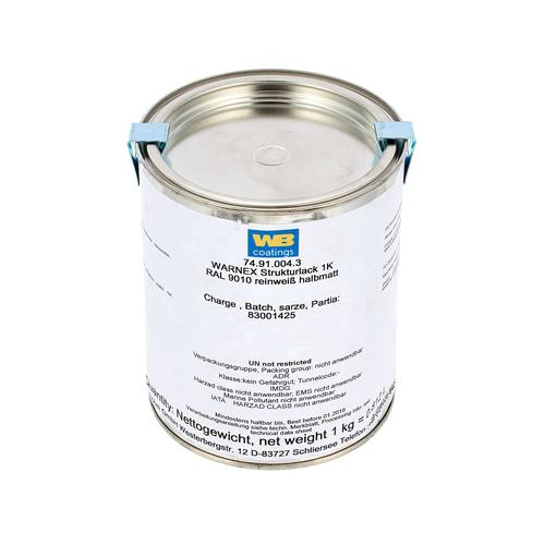 Warnex Structure Paint White 1Kg