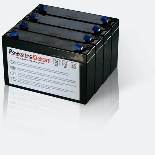 Batteriesatz für Effekta MTD 700 RM