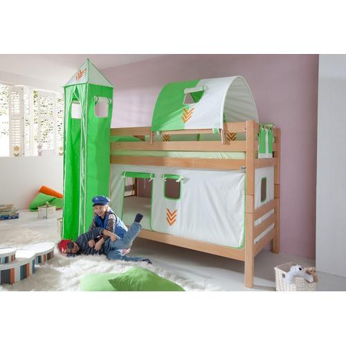 Relita Etagenbett, Set 4-tlg. braun Kinder Etagenbett Kinderbetten Kindermöbel