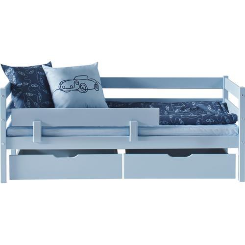 Hoppekids Bettschubkasten, (2-tlg.) blau Kinder Bettschubkasten Kinderbetten Kindermöbel