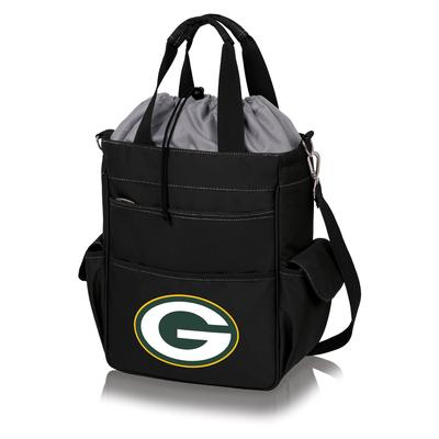 Green Bay Packers Black Activo Cooler Tote
