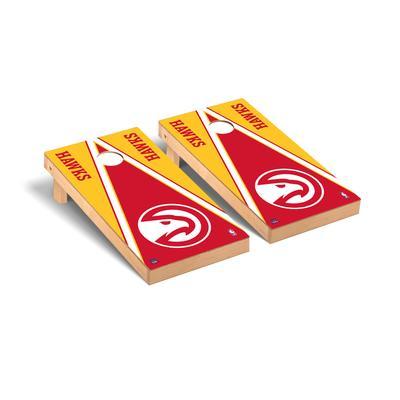 """Atlanta Hawks 2' x 4' Triangle Museum Cornhole Board Set"""