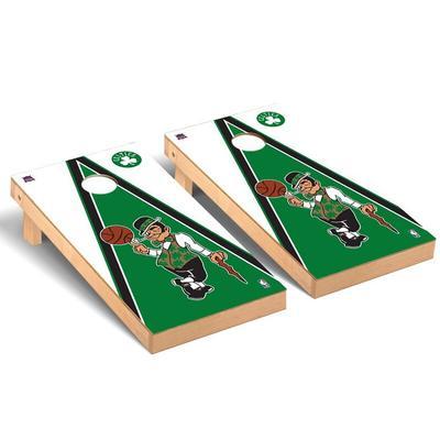"""Boston Celtics 2' x 4' Triangle Cornhole Game Set"""