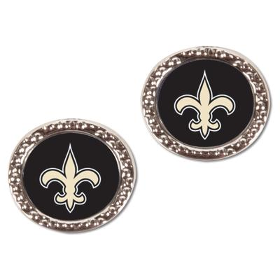 Women's New Orleans Saints WinCraft Round Post Earrings