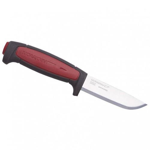 Morakniv - Gürtelmesser Pro C Carbonstahl - Messer Gr 9,1 cm rot