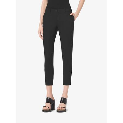 Michael Kors Stretch Wool-Gabardine Trouser Black 12
